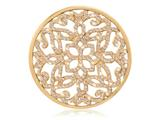 Nikki Lissoni Gold-tone 43mm Baroque With Swarovski® Elements Coin style: C1298GL