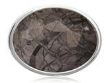 Nikki Lissoni Silver-tone 33mm Picasso Jasper Coin style: C1319SM
