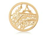 Nikki Lissoni Gold-tone 33mm Paris Dangle Coin style: C1331GM