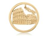 Nikki Lissoni Gold-tone 33mm Rome Dangle Coin style: C1332GM