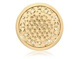 Nikki Lissoni Gold-tone 33mm Golden Maze Coin style: C1391GM