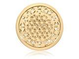 Nikki Lissoni Gold-tone 33mm Golden Maze Coin style: C1391GM