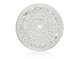 Nikki Lissoni Silver-tone 33mm Swarovski Wisdom Of Words Coin style: C1417SM