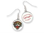 Ed Hardy Roaring Tiger Painted Earrings Style number: EHF107