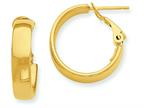 14k Hoop Earrings Style number: PRE732