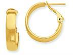 14k Hoop Earrings Style number: PRE732