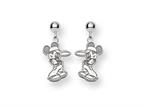 Disney Mickey Dangle Post Earrings Style number: WD103SS