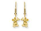 Disney Waving Mickey Dangle Wire Earrings Style number: WD106GP