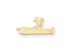 Personalized Disney Minnie Mouse Nameplate (up to 9 Letters) - Chain Included Style number: XNA462GP
