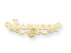 Personalized Disney Aurora Nameplate (up to 9 Letters) - Chain Included Style number: XNA483GP