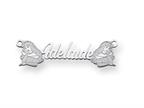 Personalized Disney Aurora Nameplate (up to 9 Letters) - Chain Included Style number: XNA484SS