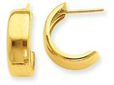 14k Hoop Earrings style: E683