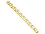 8 Inch 14k 13mm Hand-polished Anchor Link Chain Bracelet style: LK1038