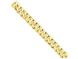 24 Inch 14k 16mm Hand-polished Traditional Link Chain style: LK12224