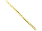 9 Inch 14k 8mm Hand-polished Fancy Link Chain Ankle Bracelet (Smaller Ankles) style: LK1579