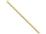 8 Inch 14k 5.25mm Fancy Link Chain Bracelet style: LK3168