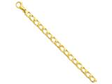 9 Inch 14k 8.65mm Polished Fancy Link Chain Ankle Bracelet style: LK3939