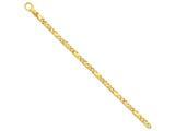 24 Inch 14k 5mm Polished Fancy Link Chain style: LK39624