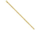 22 Inch 14k 5.6mm Polished Fancy Link Chain style: LK43722