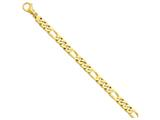24 Inch 14k 8.8mm Polished Fancy Link Chain style: LK46224