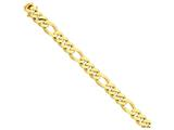 24 Inch 14k 11.8mm Polished Fancy Link Chain style: LK46524