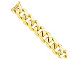 24 Inch 14k 27.5mm Polished Heavy Curb Link Chain style: LK47624