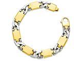22 Inch 14k Two-tone Fancy Link Chain style: LK54322