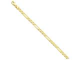 20 Inch 14k Polished Figaro Link Chain style: LK66720