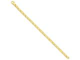 18 Inch 14k Fancy Link Chain style: LK67018