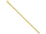 8 Inch 14k Polished Fancy Link Chain Bracelet style: LK6858
