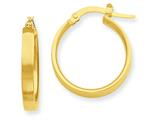 14k Hoop Earrings style: PRE552
