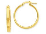 14k Hoop Earrings style: PRE553