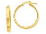 14k Hoop Earrings style: PRE553