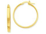 14k Hoop Earrings style: PRE554