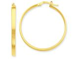 14k Hoop Earrings style: PRE555