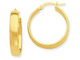 14k Hoop Earrings style: PRE680