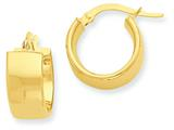 14k Hoop Earrings style: PRE682