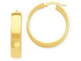 14k Hoop Earrings style: PRE685