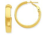 14k Hoop Earrings style: PRE733