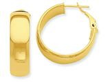 14k Hoop Earrings style: PRE735
