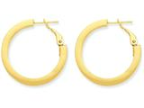 14k Hoop Earrings style: PRE741