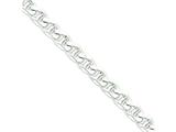 18 Inch Sterling Silver 10.5mm Anchor Chain style: QAN300