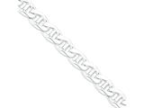 18 Inch Sterling Silver 13.5mm Anchor Chain style: QAN350