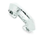 Sterling Silver Cuff Bangle style: QB492