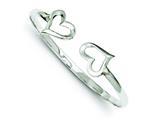 Sterling Silver Hearts Cuff Bangle style: QB527