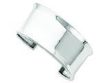 Sterling Silver Cuff Bangle style: QB546
