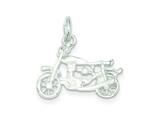 Sterling Silver Motorcycle Pendant - Chain Included style: QC1031