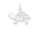 Sterling Silver Turtle Charm style: QC115