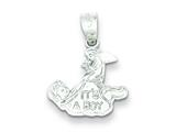 "Sterling Silver It""s A Boy Charm style: QC1300"