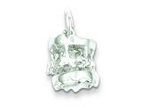 Sterling Silver Carousel Charm style: QC1478